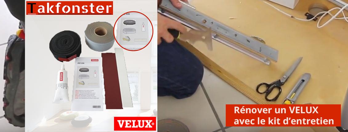 Dossier Comment Rénover Un Velux Avec Le Kit Dentretien